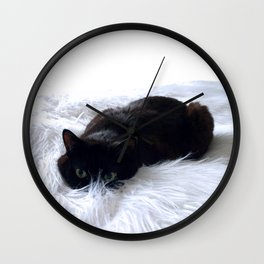 The hunt is on Wall Clock