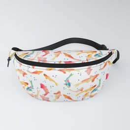 Watercolored Koi Pond Fanny Pack