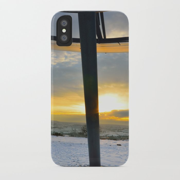 The Halo Panopticon iPhone Case