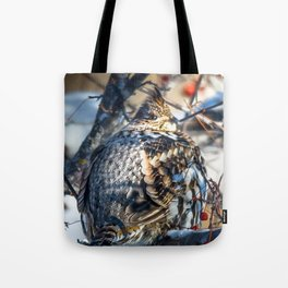 End of January Ruffed Grouse Tote Bag