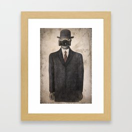 Son of Photographer Framed Art Print