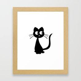 Kitty Kuro Framed Art Print