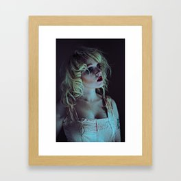 Goth Doll Framed Art Print