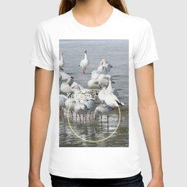 Les Oies Blanches : Kécéça ? - The White Geese : What's this? T-shirt