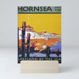 classic poster Hornsea Mini Art Print