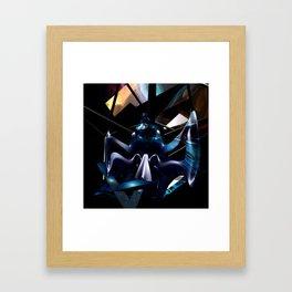 Colorful Angel Framed Art Print