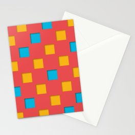 checkered pattern #23 Stationery Cards