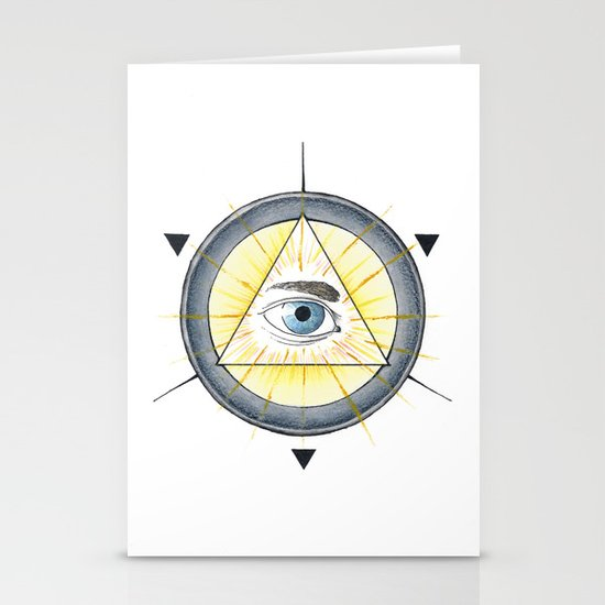Eye of Providence Stationery Cards