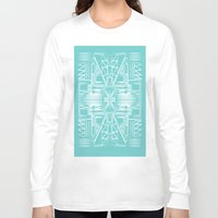 aztec Long Sleeve T-shirts featuring aztec by 12laurec