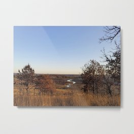 Pheasant Branch Creek and Conservancy Metal Print
