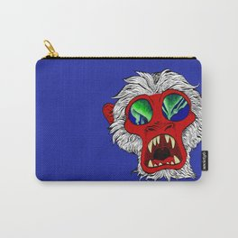 """""""Arctic Monkey"""" by Virginia McCarthy Carry-All Pouch"""