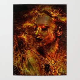 LUSTFUL FLAMES Poster