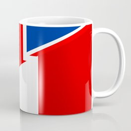united kingdom italy country half flag Coffee Mug