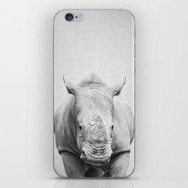 Rhino 2 - Black & White iPhone Skin