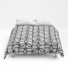 three point window grille design Comforters