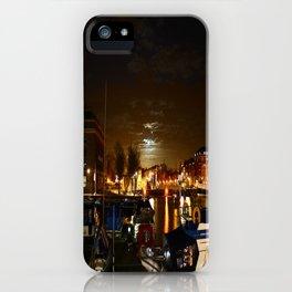 Yellow Moon iPhone Case