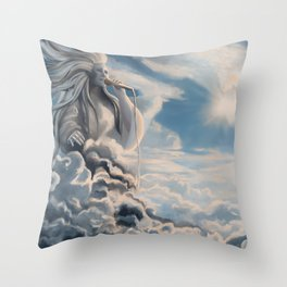 Great Gig in the Sky Throw Pillow
