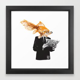 Daily Catch Framed Art Print