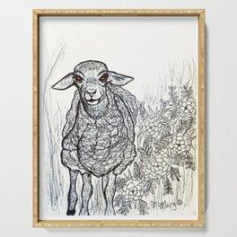Sweetheart Sheep Serving Tray