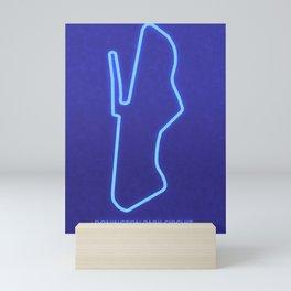 Donington Park Circuit Mini Art Print