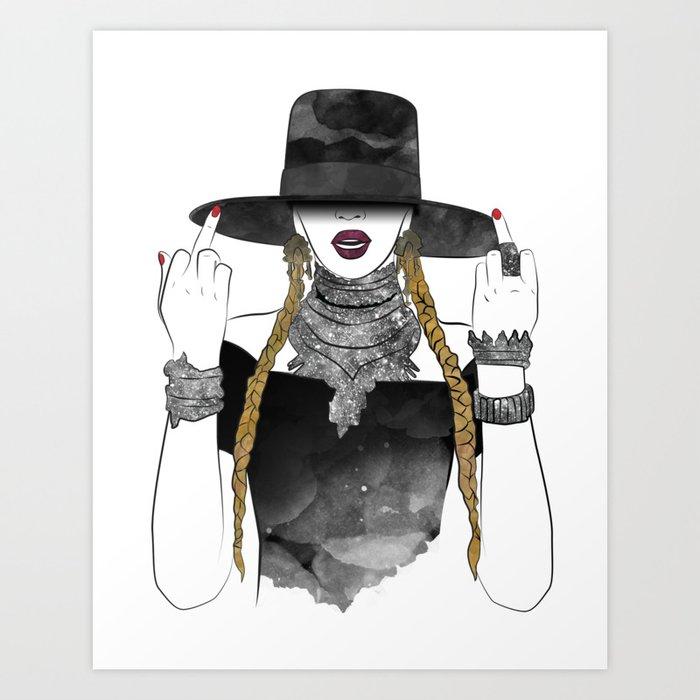 Creole Queen Bey Kunstdrucke