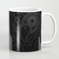 damask Mugs featuring Damask by Rothko