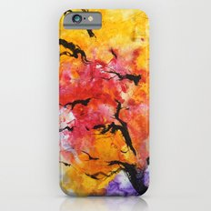 Abstraction on a tree iPhone 6s Slim Case