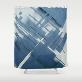 Abstract Composition 634 Shower Curtain
