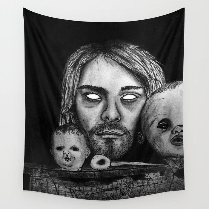 Heads and Kurt. Wall Tapestry
