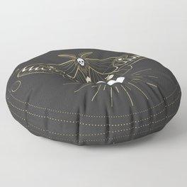The Moon Moth Floor Pillow