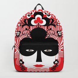 The Queen of clubs Backpack