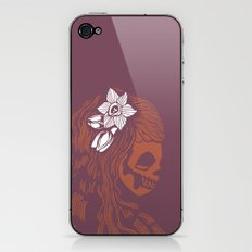 Death Becomes Hair iPhone & iPod Skin
