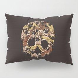 Skull Pugs Pillow Sham