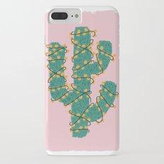 Cactus Lights  iPhone 7 Plus Slim Case