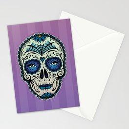 Sugar Skull (Calavera) by Adam Miconi Stationery Cards