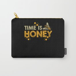 Time Is Honey - Beekeeping Beekeepers Carry-All Pouch