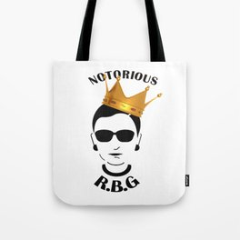 RBG Ruth Bader Ginsburg Fight For The Things You Care About Tote Bag