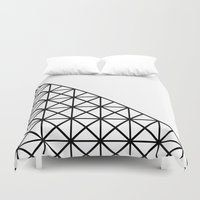 the xx Duvet Covers featuring XX Pattern by Rafael Igualada