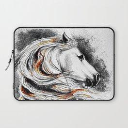 Dark Beauty Horse Laptop Sleeve