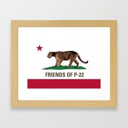 Friends of P-22 Framed Art Print