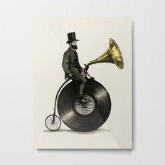 Music Man Metal Print