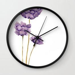 Backyard bloom Wall Clock