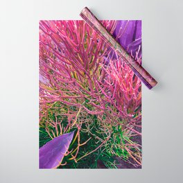 Sticks on Fire with Agave Wrapping Paper