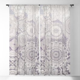 BRODAT on Violet Sheer Curtain