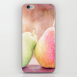 LOVING PEARS iPhone Skin