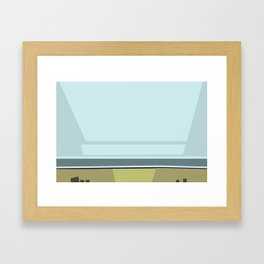 Santa Monica Horizon 0114 Framed Art Print