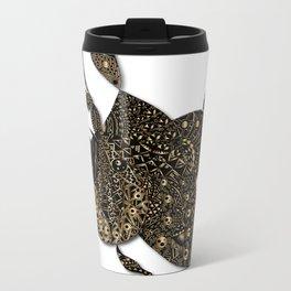 butterfly Metal Travel Mug