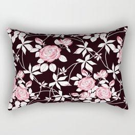 Roses. 2 Rectangular Pillow