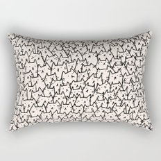 A Lot of Cats Rectangular Pillow