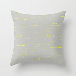 Speedy Arrows Throw Pillow